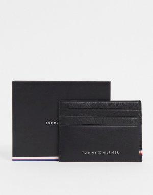Черный кредитница с логотипом -Черный цвет Tommy Hilfiger