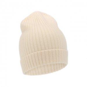 Кашемировая шапка Not Shy. Цвет: белый