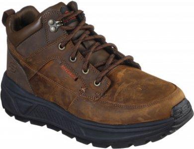 Ботинки мужские Folsten, размер 40 Skechers. Цвет: коричневый