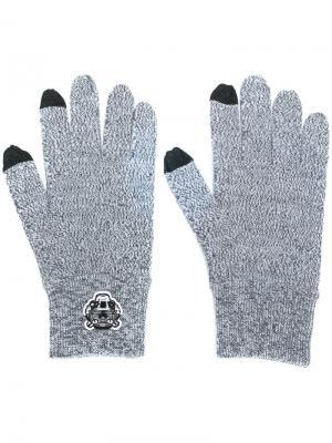 Перчатки Mini Tiger Kenzo. Цвет: серый