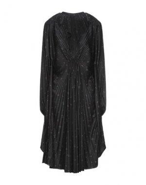 Платье до колена VETEMENTS. Цвет: черный