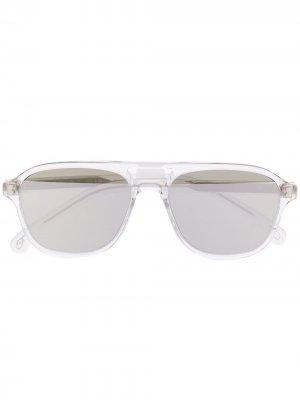 Солнцезащитные очки-авиаторы Austin PAUL SMITH EYEWEAR. Цвет: нейтральные цвета