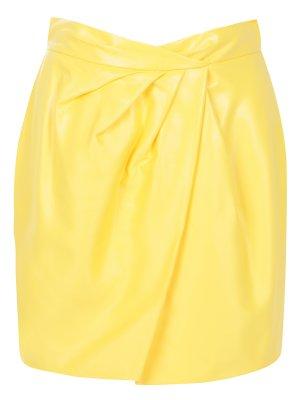 Лакированная юбка-мини VIONNET