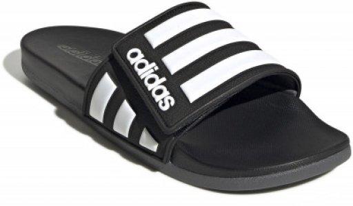 Шлепанцы мужские adidas Adilette Comfort ADJ, размер 44.5. Цвет: черный