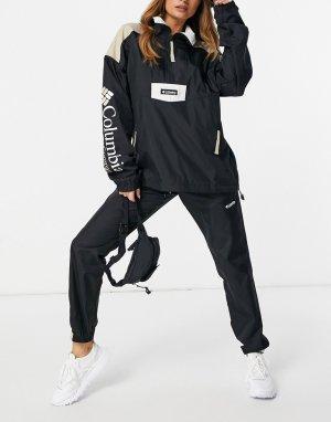 Черные брюки-ветровки Santa Ana-Черный цвет Columbia
