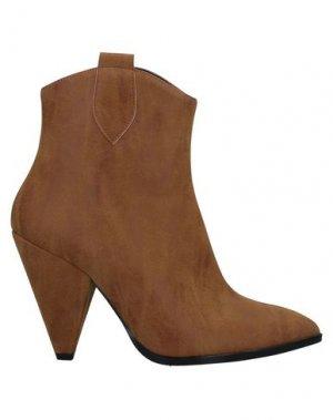 Полусапоги и высокие ботинки ANNARITA N. Цвет: желто-коричневый