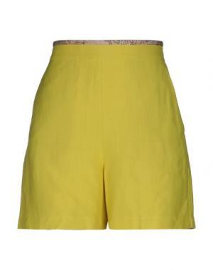 Повседневные шорты ALVIERO MARTINI 1a CLASSE. Цвет: желтый