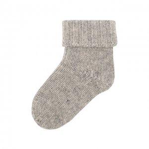 Кашемировые носки Oscar et Valentine. Цвет: серый