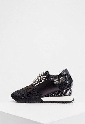 Кроссовки Le Silla. Цвет: черный