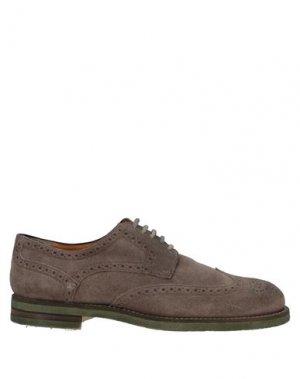 Обувь на шнурках CALPIERRE. Цвет: хаки