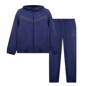 Tech Fleece Set Nike. Цвет: синий