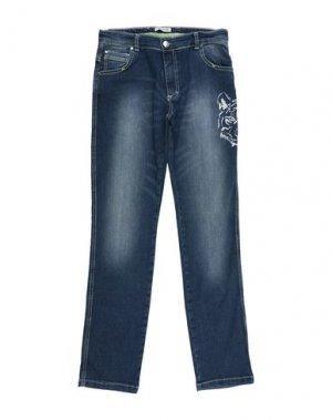 Джинсовые брюки GF FERRE'. Цвет: синий