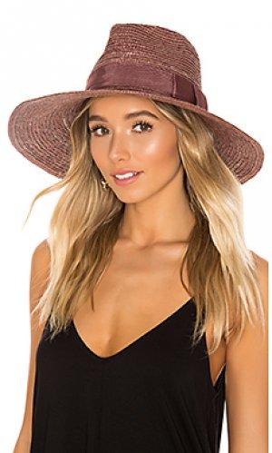 Шляпа joanna Brixton. Цвет: фиолетовый