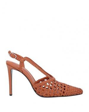 Туфли ALTUZARRA. Цвет: желто-коричневый