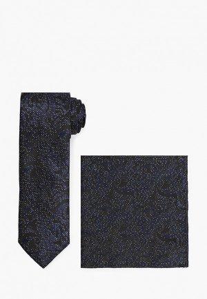 Галстук и платок Ir.Lush. Цвет: синий