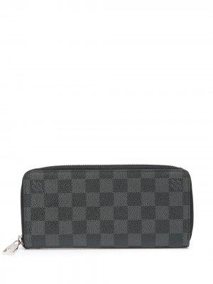 Кошелек Zippy pre-owned Louis Vuitton. Цвет: серый