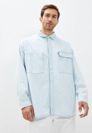 Рубашка джинсовая Levis® Made & Crafted™ Levi's®. Цвет: голубой