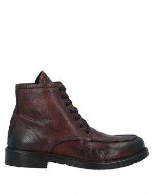 Полусапоги и высокие ботинки JP/DAVID. Цвет: коричневый