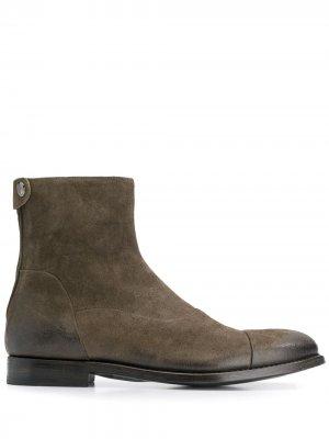 Ботинки Yago Alberto Fasciani. Цвет: серый