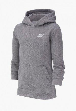 Худи Nike SPORTSWEAR BOYS PULLOVER HOODIE. Цвет: серый