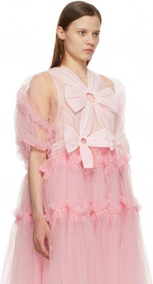 Pink Tulle Bow Harness Noir Kei Ninomiya. Цвет: 2 pink