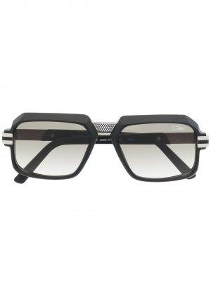 Солнцезащитные очки в прямоугольной оправе Cazal. Цвет: черный