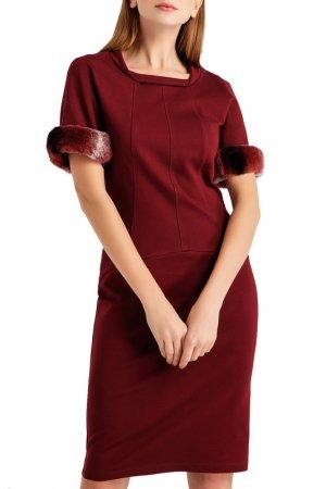 Платье BGN. Цвет: bordeau, бордовый
