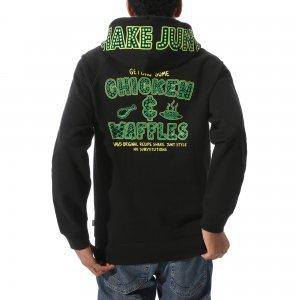 Толстовка Vans X Shake Junt Versa Standard Pullover Hoodie. Цвет: черный_зеленый