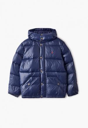 Пуховик Polo Ralph Lauren. Цвет: синий
