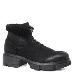 Ботинки DFAB03 черный ERNESTO DOLANI
