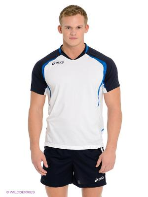 Волейбольная форма SET TIGER MAN ASICS. Цвет: темно-синий, белый