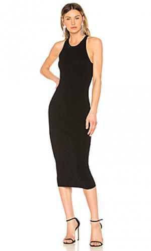Платье marc A.L.C.. Цвет: черный
