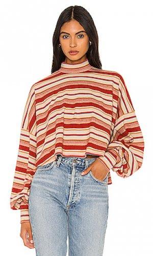 Пуловер steph Free People. Цвет: красный