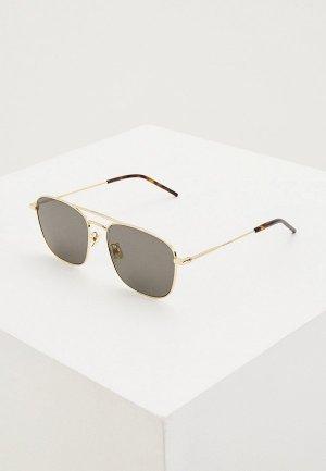 Очки солнцезащитные Saint Laurent SL 309 009. Цвет: золотой