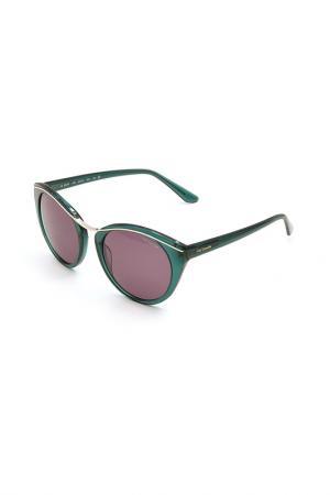 Очки солнцезащитные Guy Laroche. Цвет: 549 зеленый, золотистый