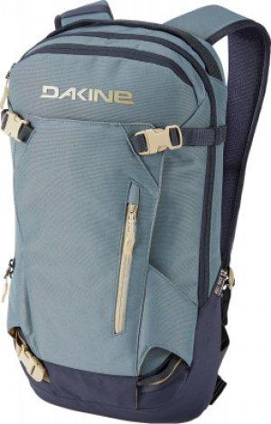 Рюкзак женский HELI PACK 12L DARK OLIVE/CARAMEL Dakine. Цвет: серый