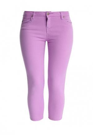 Капри Fox. Цвет: фиолетовый