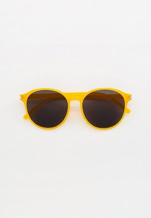 Очки солнцезащитные Bocciolo. Цвет: желтый