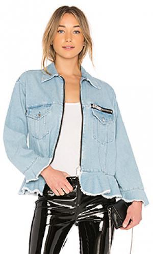 Джинсовые куртки MSGM. Цвет: легкий деним