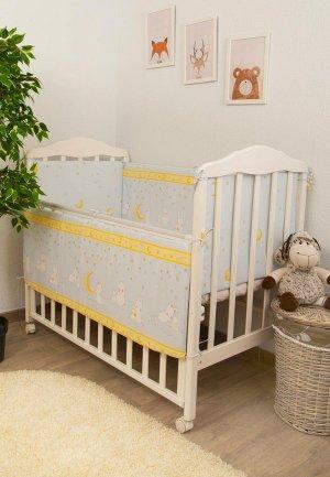 Бортик для детской кровати Сонный Гномик Мечтатели