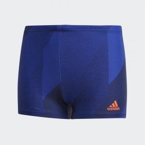 Плавки-боксеры Boys Graphic Performance adidas. Цвет: синий