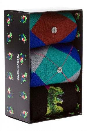 Набор из трех пар носков Mens Gift Pack Burlington. Цвет: multicolor