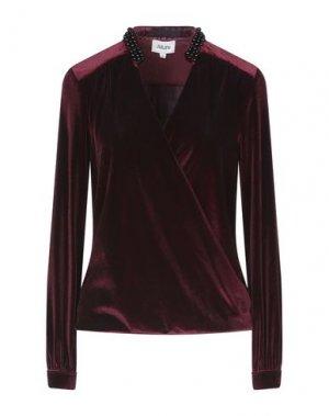Блузка ALLURE. Цвет: красно-коричневый