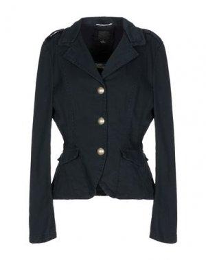 Пиджак DEKKER. Цвет: темно-синий