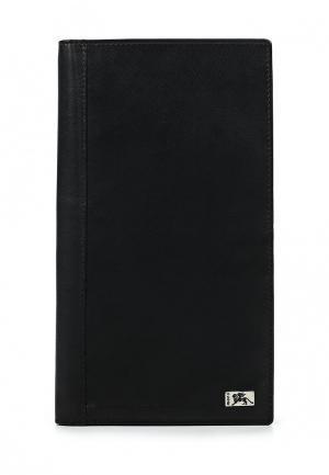 Обложка для документов Mano. Цвет: черный