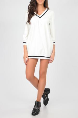 Платье Cocogio. Цвет: белый