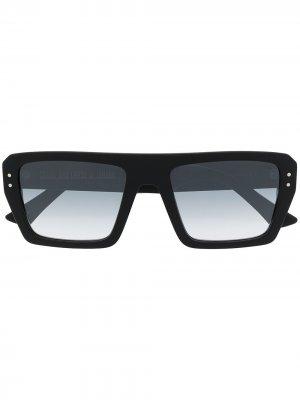 Солнцезащитные очки с эффектом градиента Cutler & Gross. Цвет: черный
