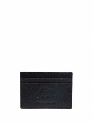 Картхолдер с тисненым логотипом Karl Lagerfeld. Цвет: черный