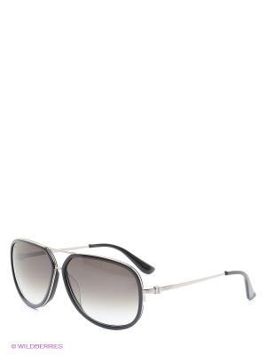 Солнцезащитные очки SF 637S 001 Salvatore Ferragamo. Цвет: серый, черный