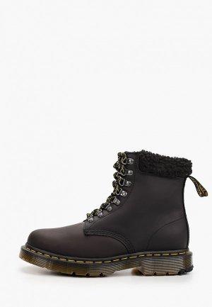 Ботинки Dr. Martens 1460 Collar-8 Eye Boot. Цвет: черный